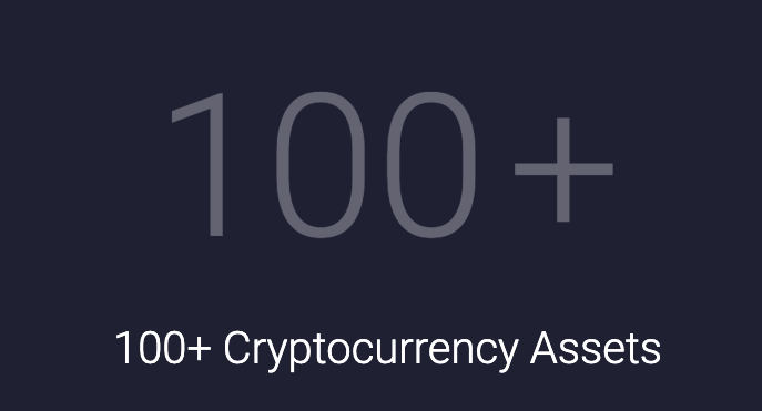 100+ cryptocurrency assets with Exodus wallet