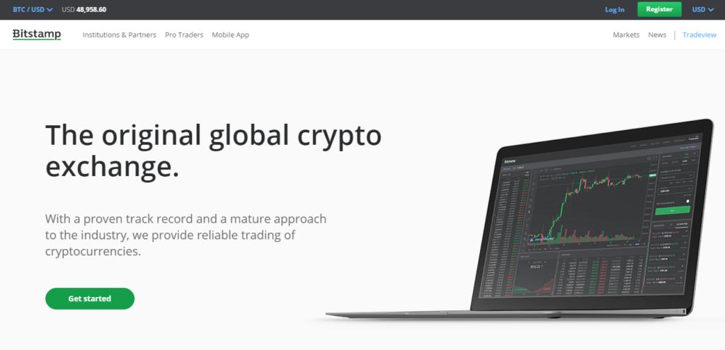 Bitstamp cryptocurrency exchange