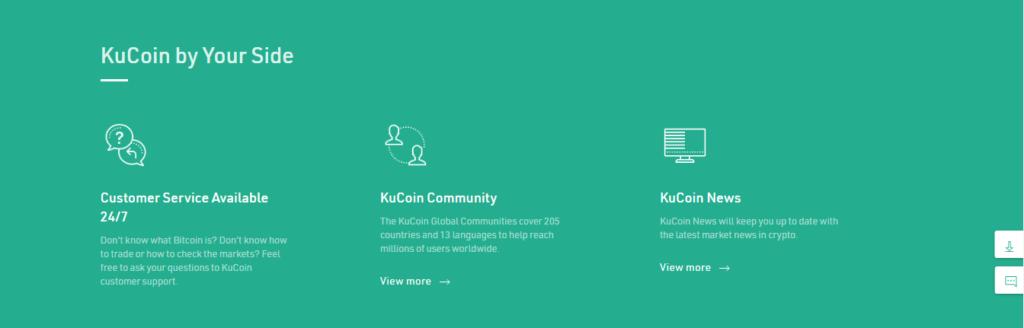 KuCoin features